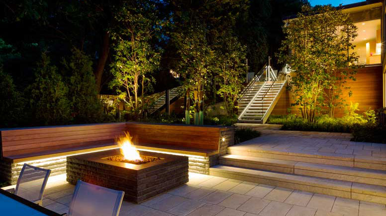 & The Brightest Trends in Outdoor Lighting