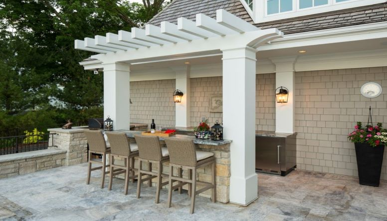 LIGHT UP YOUR PERGOLA